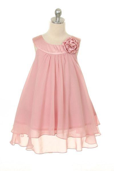 Summer Chiffon Layered Dress