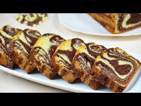 Chec pufos cu cacao - Chec marmorat - JamilaCuisine - YouTube