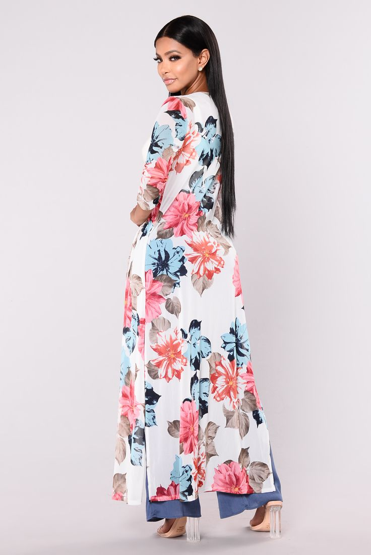 Diana Tropical Duster - White