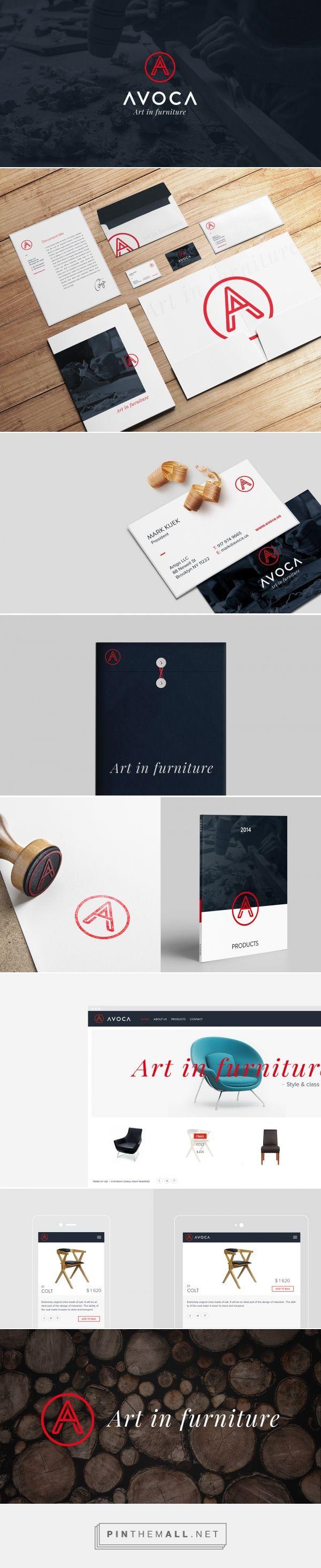 AVOCA Branding by NOMONO on Behance | Fivestar Branding – Design and Branding Agency & Inspiration Gallery