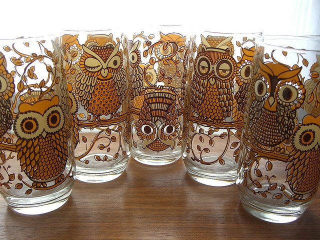 Top 25 Ideas About Owl Glasses On Pinterest Painted Wine