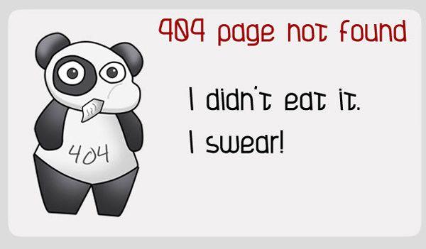 Cute lying panda. Heh