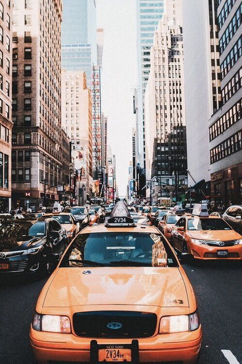 Bold photography is utilized to capture this New York State mind by providing the typical busy New York City life with cluttered and a framed orientation.