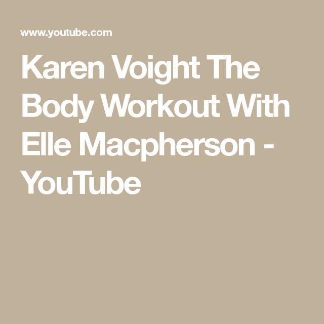 Elle Macpherson Workout Youtube