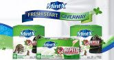 One Year or Months Supply of Mint-X Giveaway  Open to: United States Ending on: 02/10/2016
