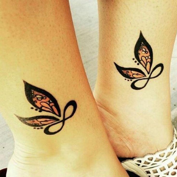 Infinity butterfly love.