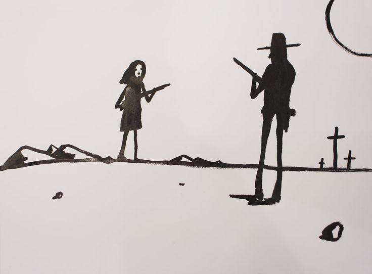Untitled 28, 2014 by Noah Taylor SOLD Ink on Paper Signed Original (framed) 85.5cm x 65.5cm - See more at: http://www.lawrencealkingallery.com/artists/noah-taylor/work/untitled-28-2014#sthash.QM4RJ9mV.dpuf
