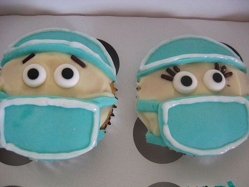SURGICAL TECH CUPCAKES by _M E L I S S A_