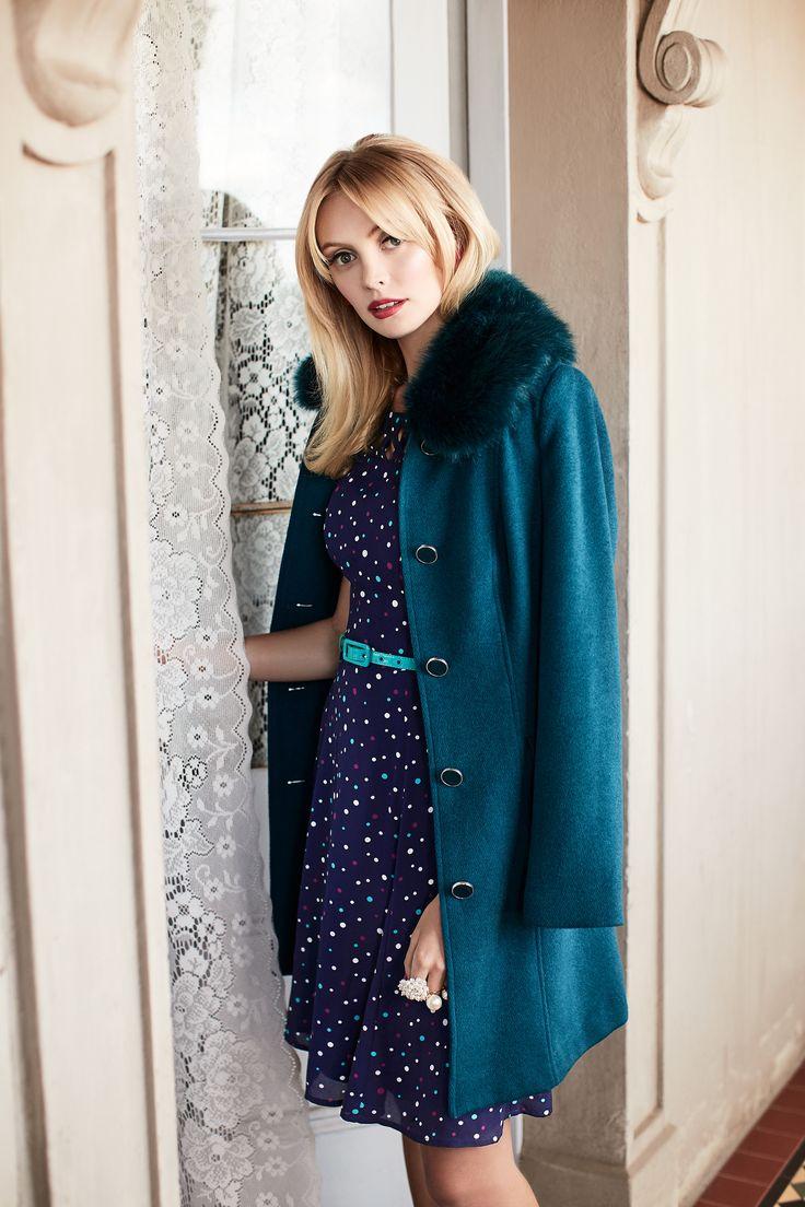 Jubilee Spot Dress | Marian Coat