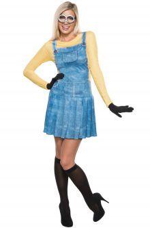 Female Minion Adult Costume