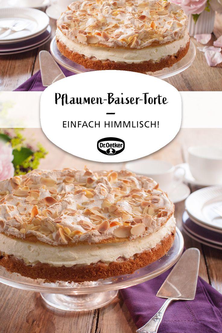 Pflaumen-Baiser-Torte