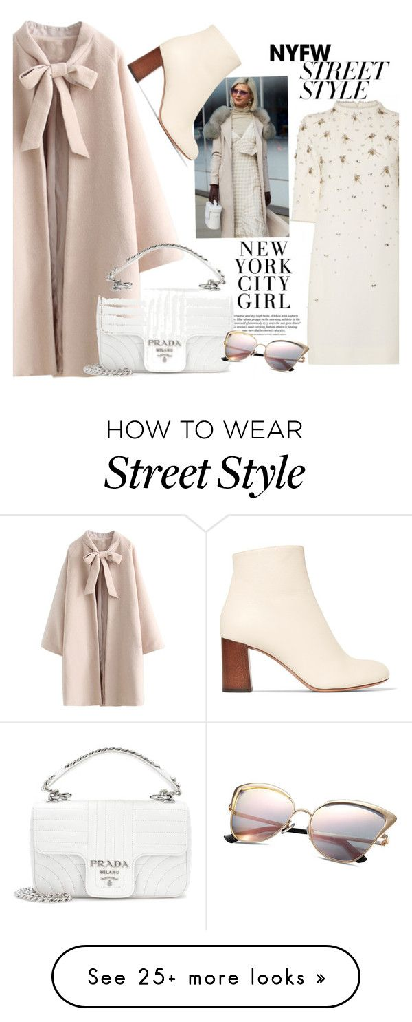 """NY City Girl"" by nataskaz on Polyvore featuring Chloé, Prada, contestentry and nyfwstreetstyle"