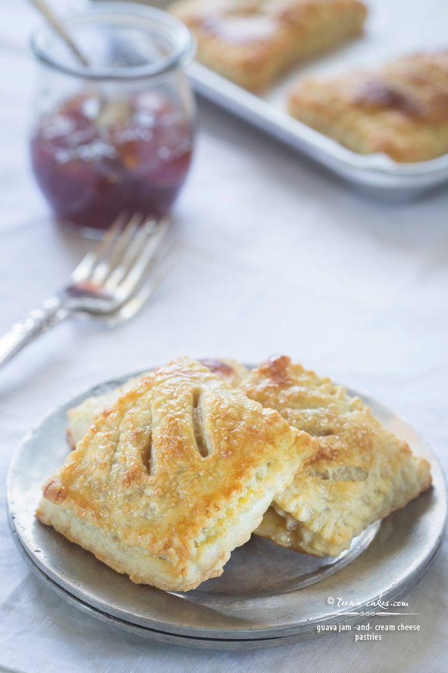 Guava Jam and Cream Cheese Pastries (pastelito de guayaba) recipe | TeenieCakes.com