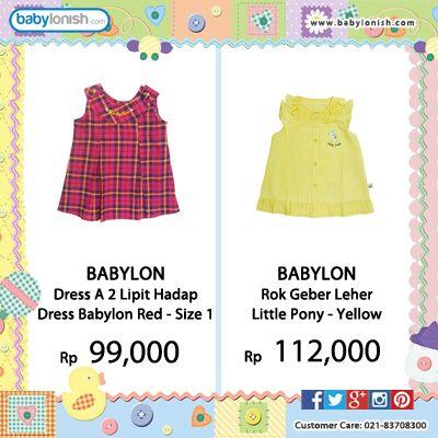Di babylonish tersedia baju bayi & anak berkualitas. Babylon, Tokusen, Tatami, Ido, Fully, Costly.  Bersertifikat SNI Gratis ongkir seluruh Indonesia.