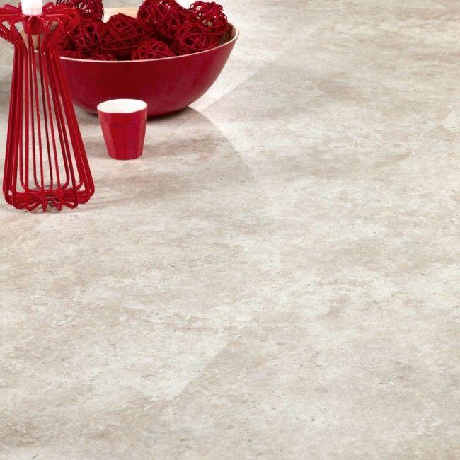 Summer Stone 36223 Waterproof Floor Panel (4.5mm x 324mm x 655mm x 7 | Clever Click).  Stone tile effect flooring ideal for waterproof flooring in bathrooms and kitchens.