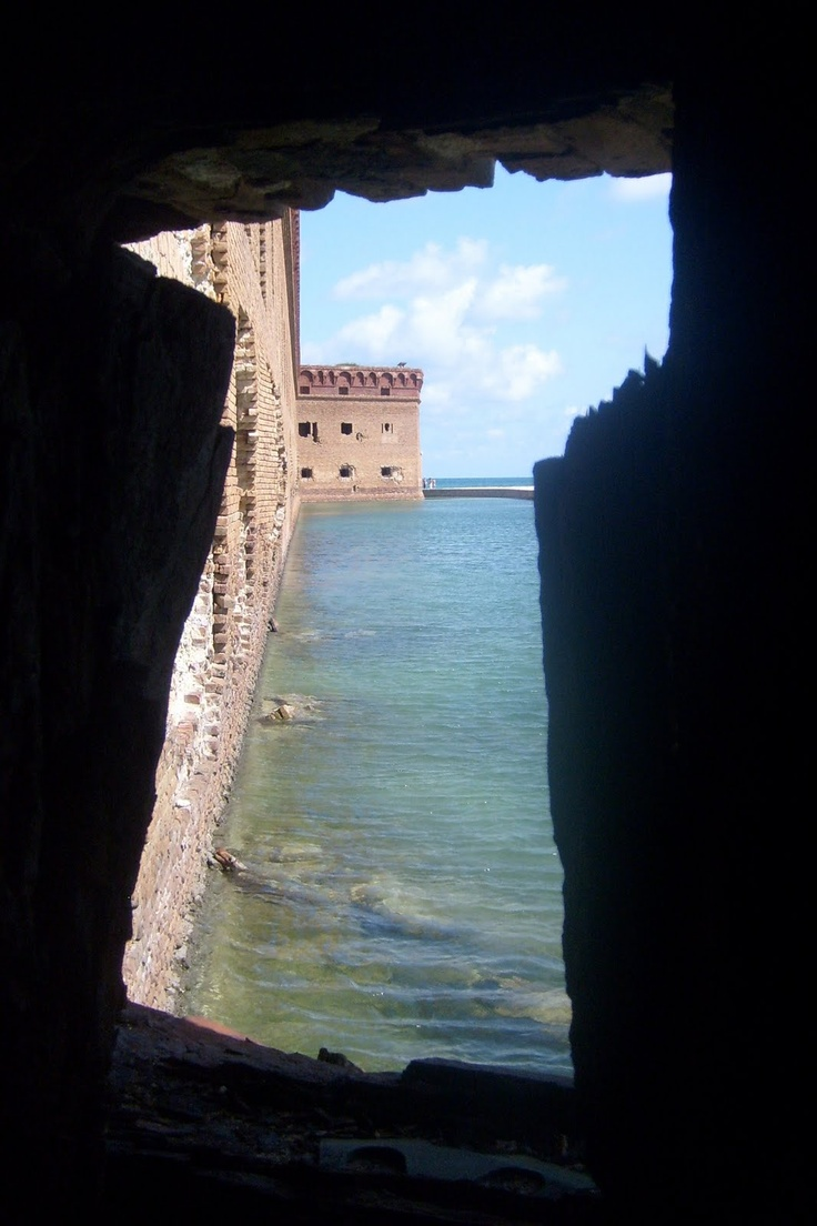 Fort Jefferson, Dry Tortugas National Park NOT in Key West but a few miles off the coast. C:
