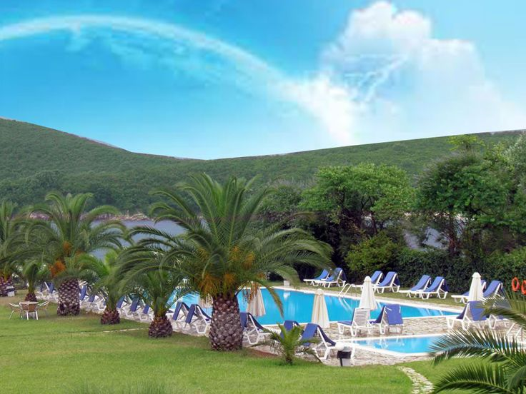 Swimming pool in Bella Mare #corfuhotel ,look at more http://www.belmare.gr/