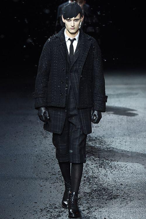 2015 F/W Paris 맨즈 컬렉션 Thom Browne