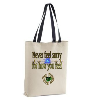 http://www.galloree.com/Artworks-never-sorry-bag--87023.php