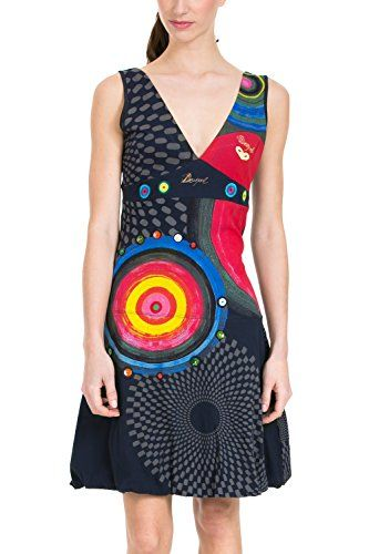 Desigual damen kleid long bay