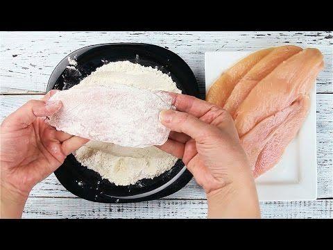 Piept de pui pane la cuptor. O gustare rapidă și sănătoasă pentru toată familia! - Bunica.me
