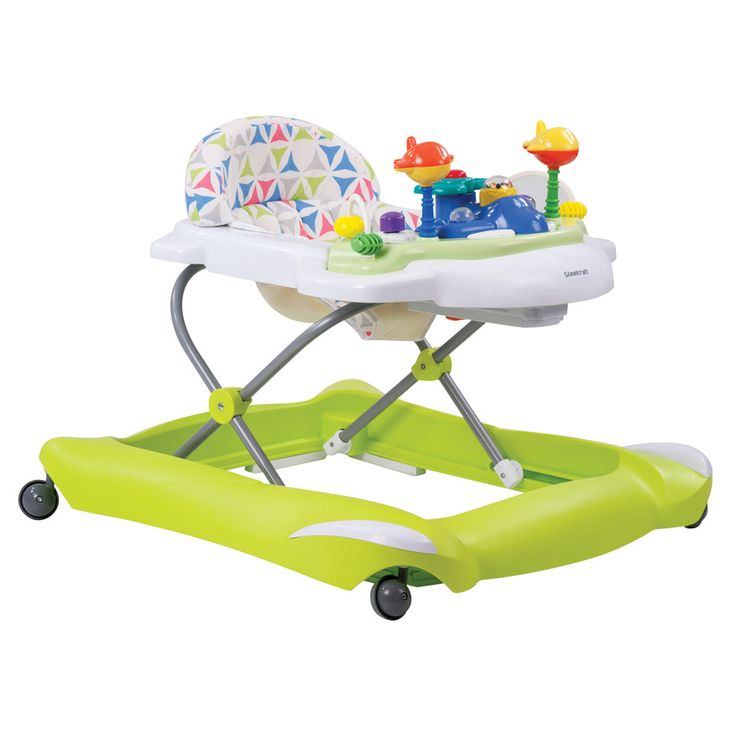 Steelcraft Jetta Baby Walker - Green Chartreuse | Toys R Us Babies R Us