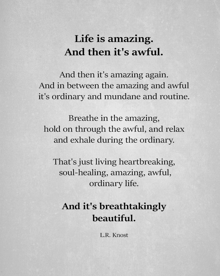 Life Is A Mirror Quote