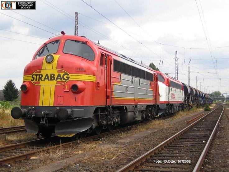 Тепловозы My-1125 и My-1142, Дортмунд-Менгеде, Германия