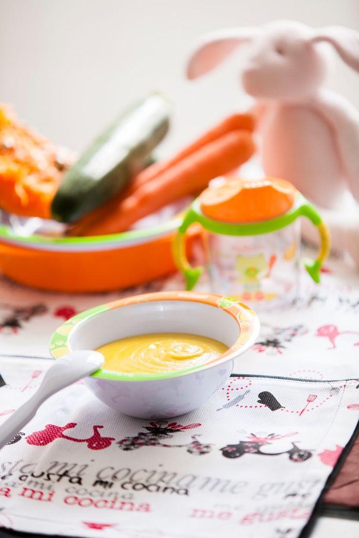 """Hoy no os voy a dar una receta simplemente, sino una serie de indicaciones de como hacer los """"potitos"""" de verduras para vuestros bebés, de ..."""
