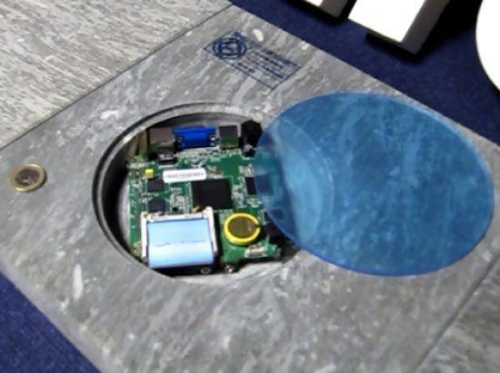 Internet Baldosas inteligentes ofrecen WiFi gratuito en la Puerta del Sol