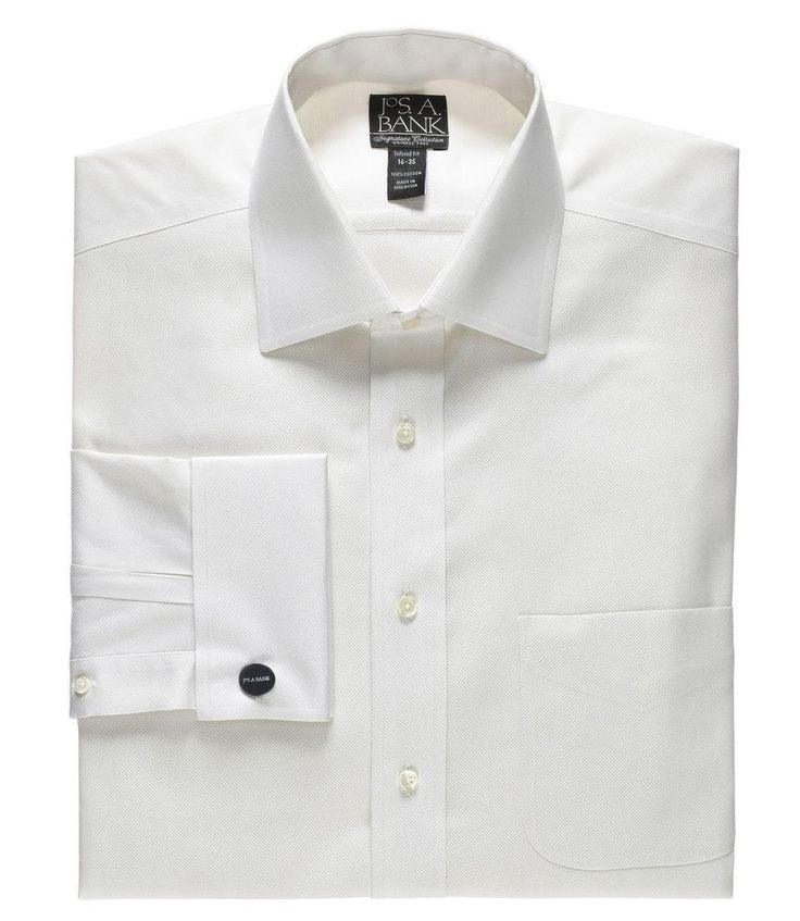 An elegant stylized alternative to Traveler Dress Shirts, offered with subtle dobbies. Wrinkle Free. Super cross stitched buttons. Jos. A. Bank logo embroidered at the hem shows our... More Details