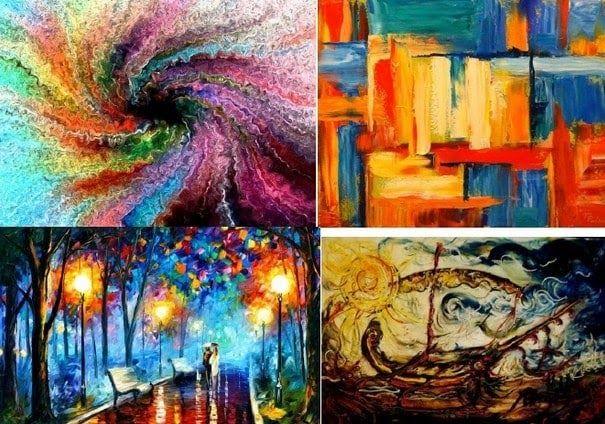 31 Lukisan Abstrak Beserta Judul Dan Pelukisnya Di 2020