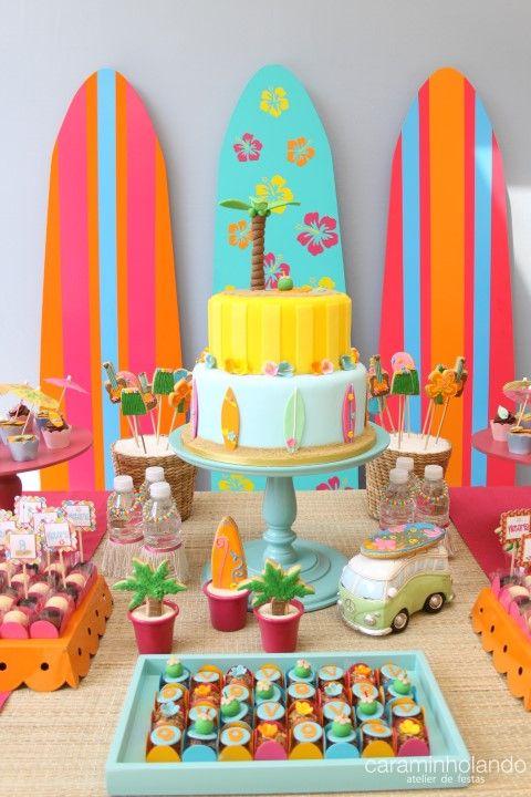decoracao festa luau:ideias sobre Luau Havaiano no Pinterest