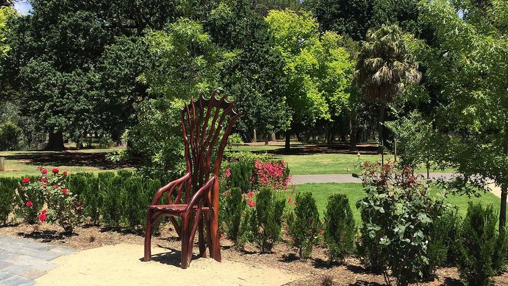 Bendigo Botanic Gardens, Goldifelds, Victoria, Australia
