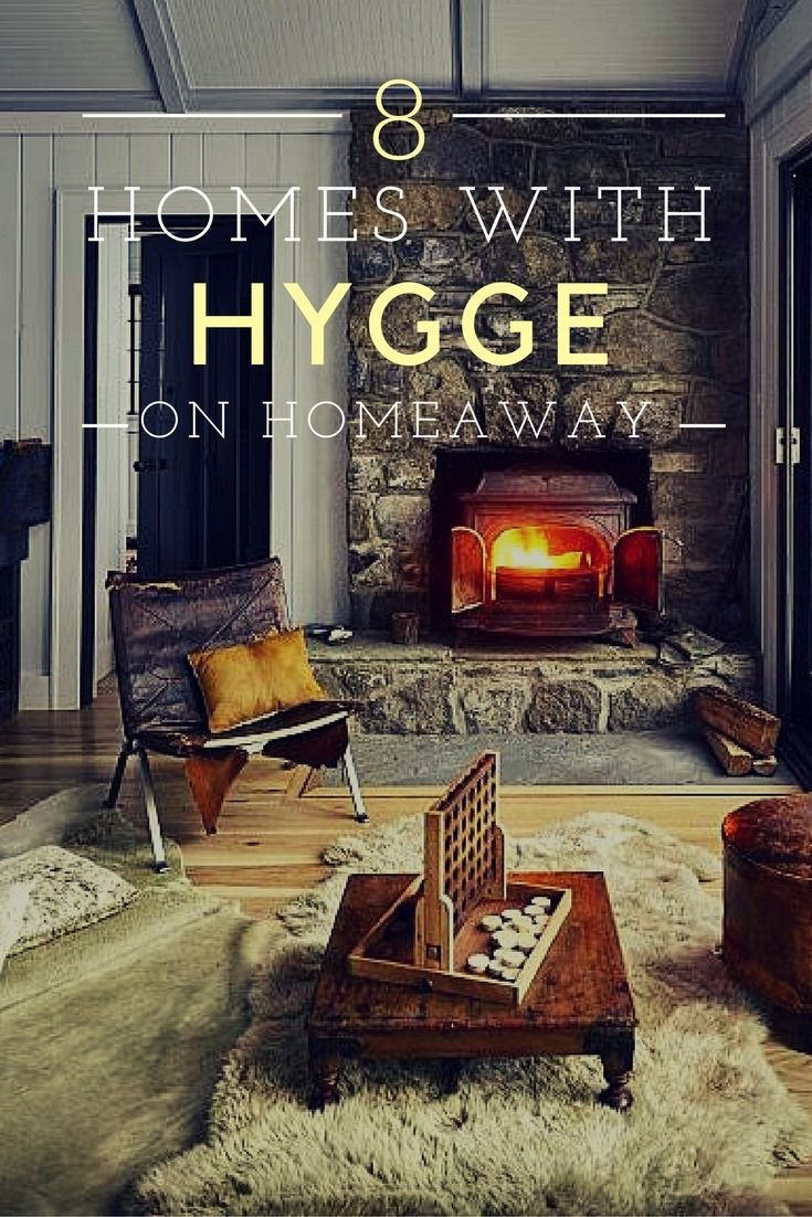 What the hygge? Pronounced HUE-gah, it's a word used to describe the cozy feeling of fires, candles, throw blankets and tea with good friends. Check out these hygge-embracing homes available to rent on HomeAway!
