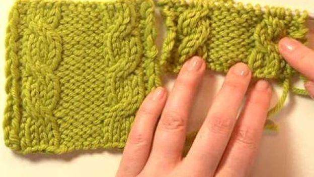 Impara a lavorare a maglia: l'effetto treccia.  Segui i nostri video tutorial e impara a lavorare a maglia in modo semplice e veloce. Scopri come realizzare l'effetto treccia nei tuoi lavori.
