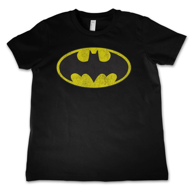 Batman Distressed Logo Kids T-Shirt  Hybris  Batman, Merch, Kids T-Shirt, Batman www.detoyboys.nl
