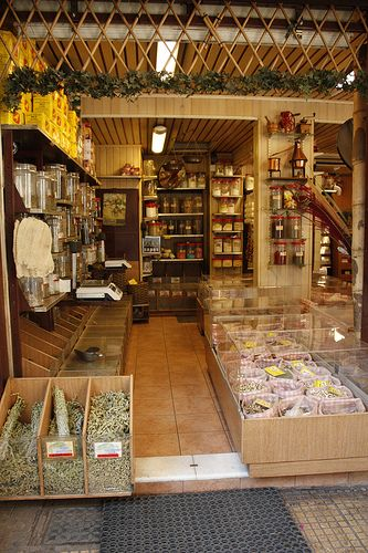 """""""Bahar"""" store (Evripidou street). All the spices & herbs you can imagine!"""