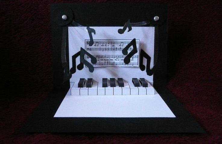 Музыкальная открытка своими руками сделать, открытки конверт лена