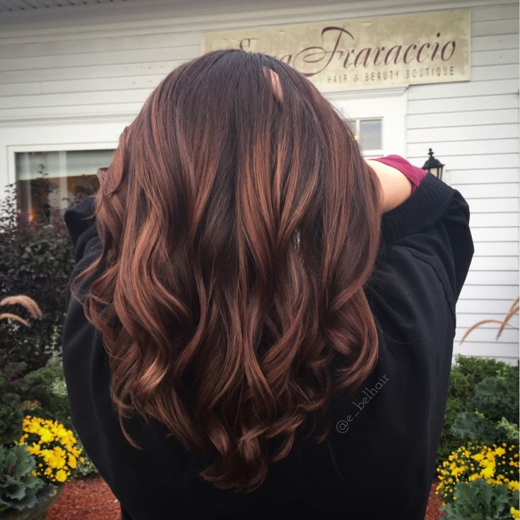 Beautiful mocha balayage