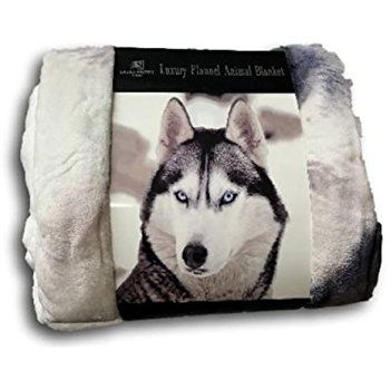 LUXURY 3D FAUX FUR SOFA BED THROWS / BLANKET ANIMAL PATTERN THROWS DOUBLE KING SIZE (Double (150 x 200cm), Wolf): Amazon.co.uk: Kitchen & Home