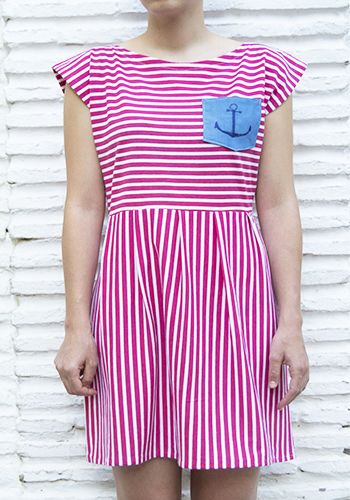 SAILOR DRESS EMBROIDERY