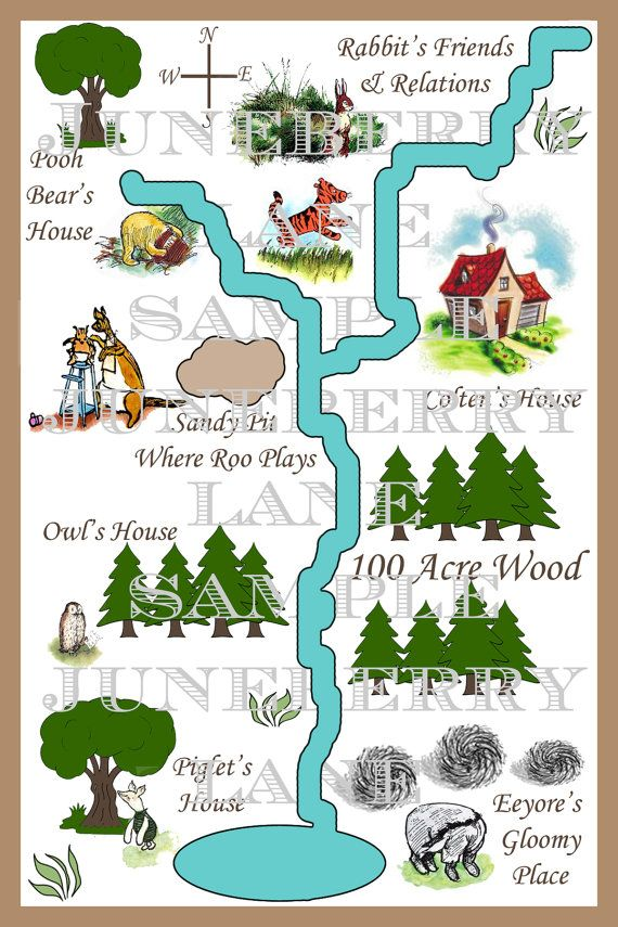 Classic Winnie the Pooh Invitations . . . by JuneberryLane on Etsy