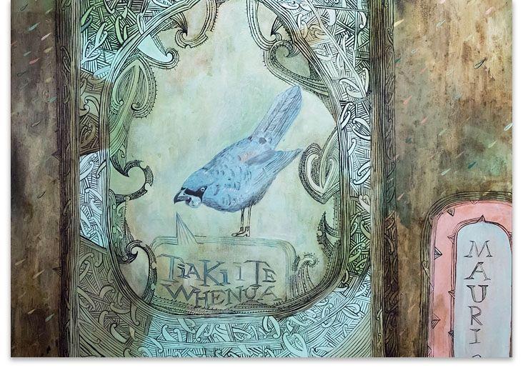 Chalotte Graham.   Men of Matariki