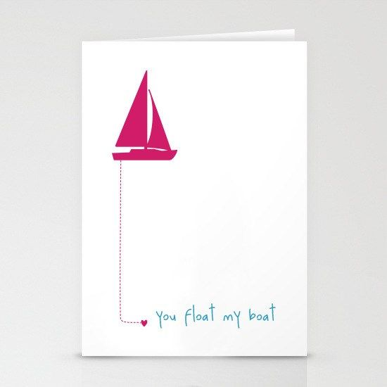 Sometimes the simplest thing is the best.  Cute and quirky Valentine's cards
