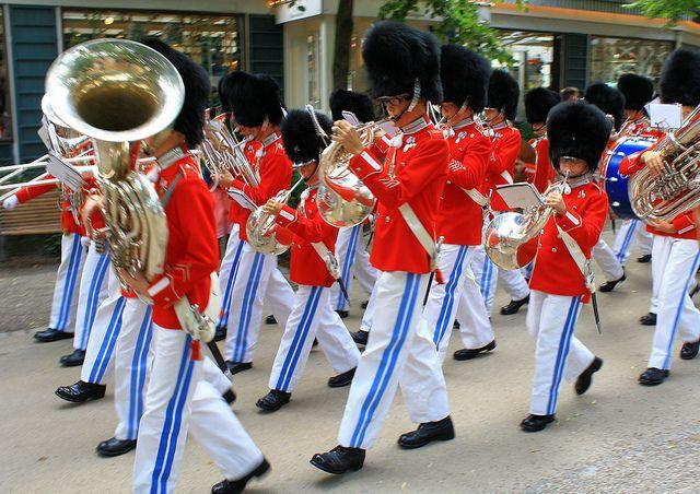 Tivoli Boys Guard Band
