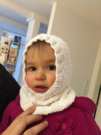 Gestrickte Schlupfmütze Baby Kindermütze 6 12 Monate 12 24monate