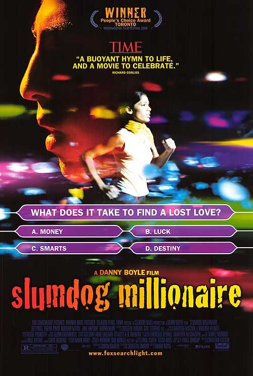 slumdog millionaire: Millionaire 2008, Great Movie, Freida Pinto, Best Movie, Poster, Dev Patel, Favorite Movie, Movie Online, Slumdog Millionaire