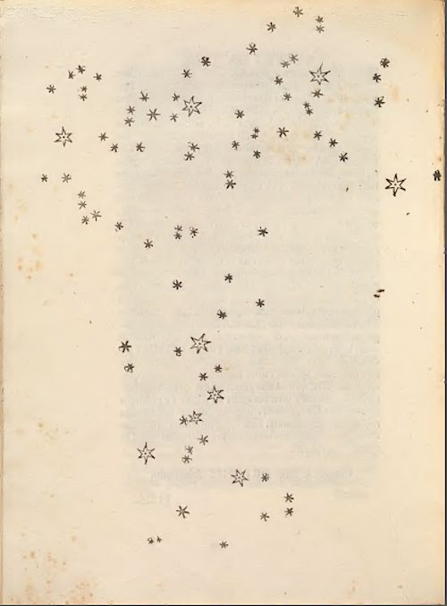 rosettes:    The Pleiades - Sidereus Nuncius   (Starry Messenger or Sidereal Message) by Galileo in March 1610.  (Smithsonian Libraries)