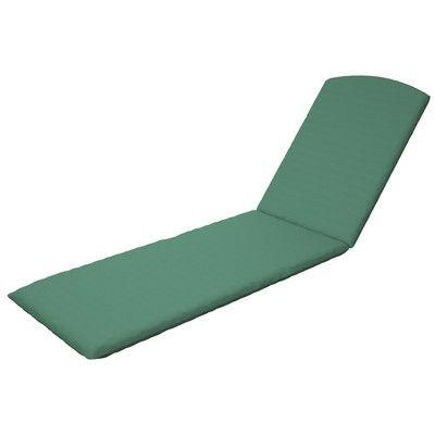 Trex Trex Outdoor Chaise Cushion Sunbrella Color: Spa
